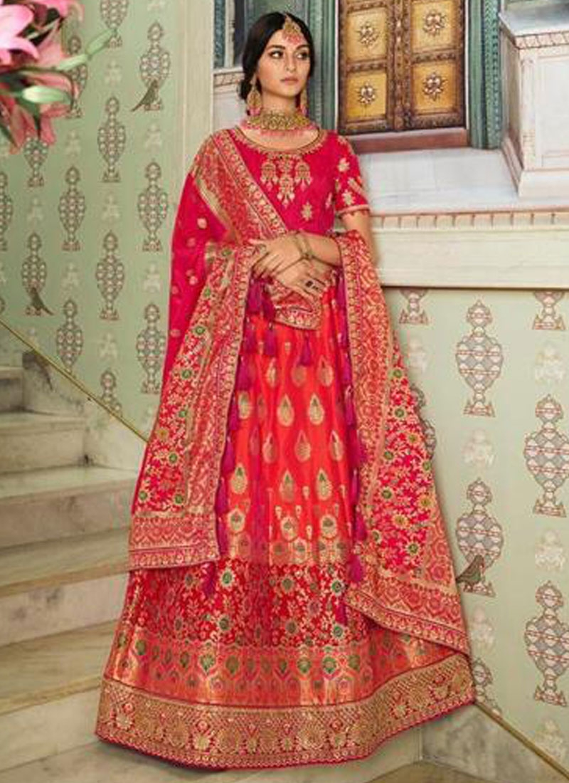 Silk Embroidered Work Trendy Lehenga Choli