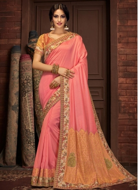 Silk Georgette Contemporary Style Saree