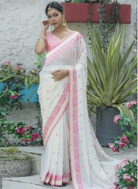 Silk Georgette Traditional Designer Saree