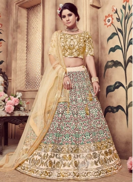 Silk Lehenga Choli For Festival