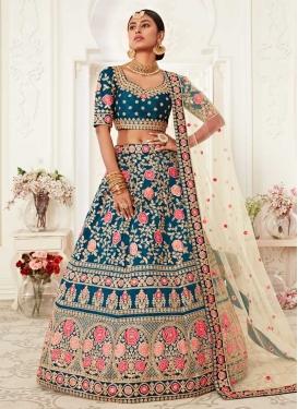 Silk Trendy Lehenga Choli For Bridal
