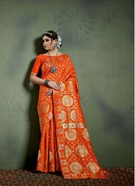 Snazzy Art Banarasi Silk Designer Saree