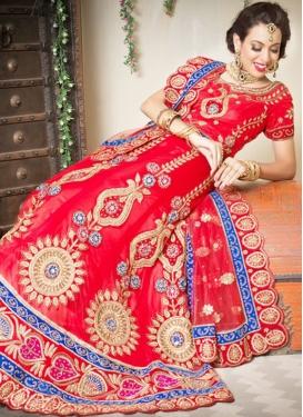 Sophisticated Red Designer Lehenga Choli