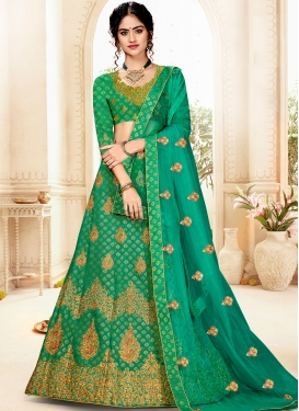 Sophisticated Weaving Designer Lehenga Choli