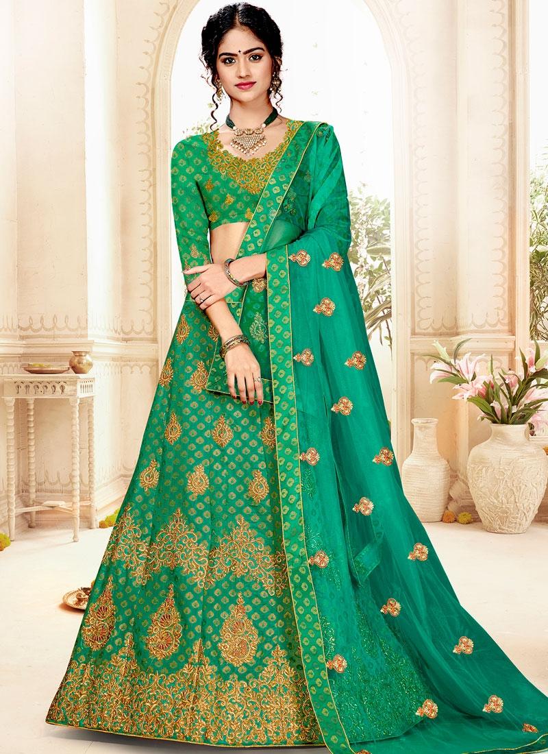 Sophisticated Weaving Designer Lehenga Choli