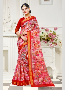 Sparkling Traditional Saree For Casual