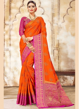 Spectacular Art Silk Designer Traditional Saree