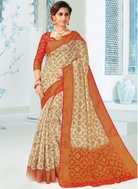 Spellbinding Art Silk Traditional Saree