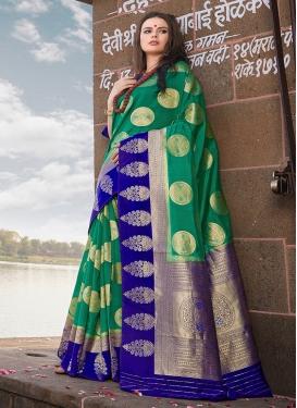 Splendid Art Silk Festival Designer Traditional Saree