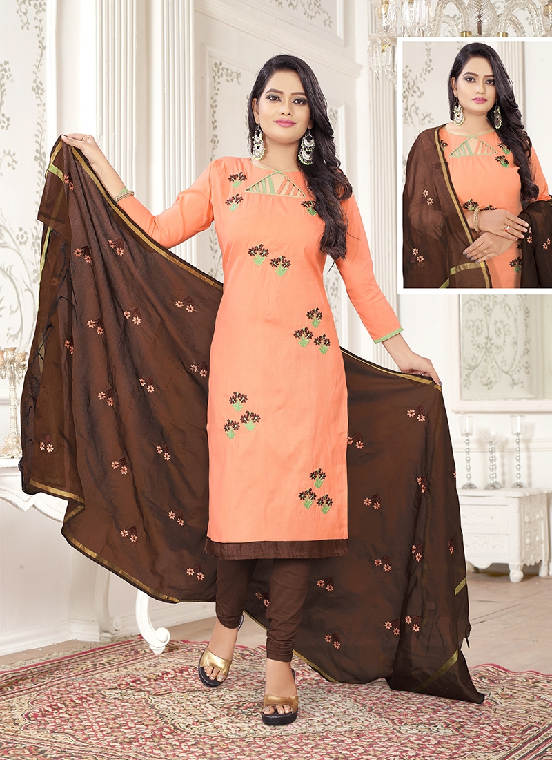 Staggering Churidar Salwar Suit For Casual