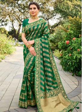 Stone Work Designer Contemporary Saree