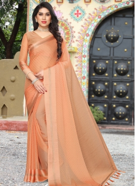 Stone Work Designer Traditional Saree