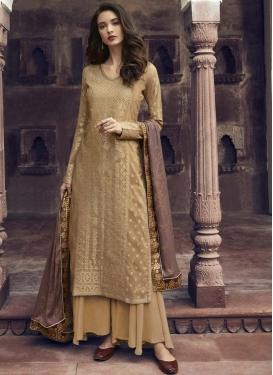 Stone Work Palazzo Style Pakistani Salwar Suit