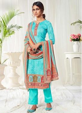 Stone Work Pant Style Pakistani Salwar Suit