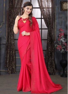 Stone Work Traditional Designer Saree