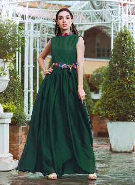 Suave Crepe Silk Fancy Readymade Gown