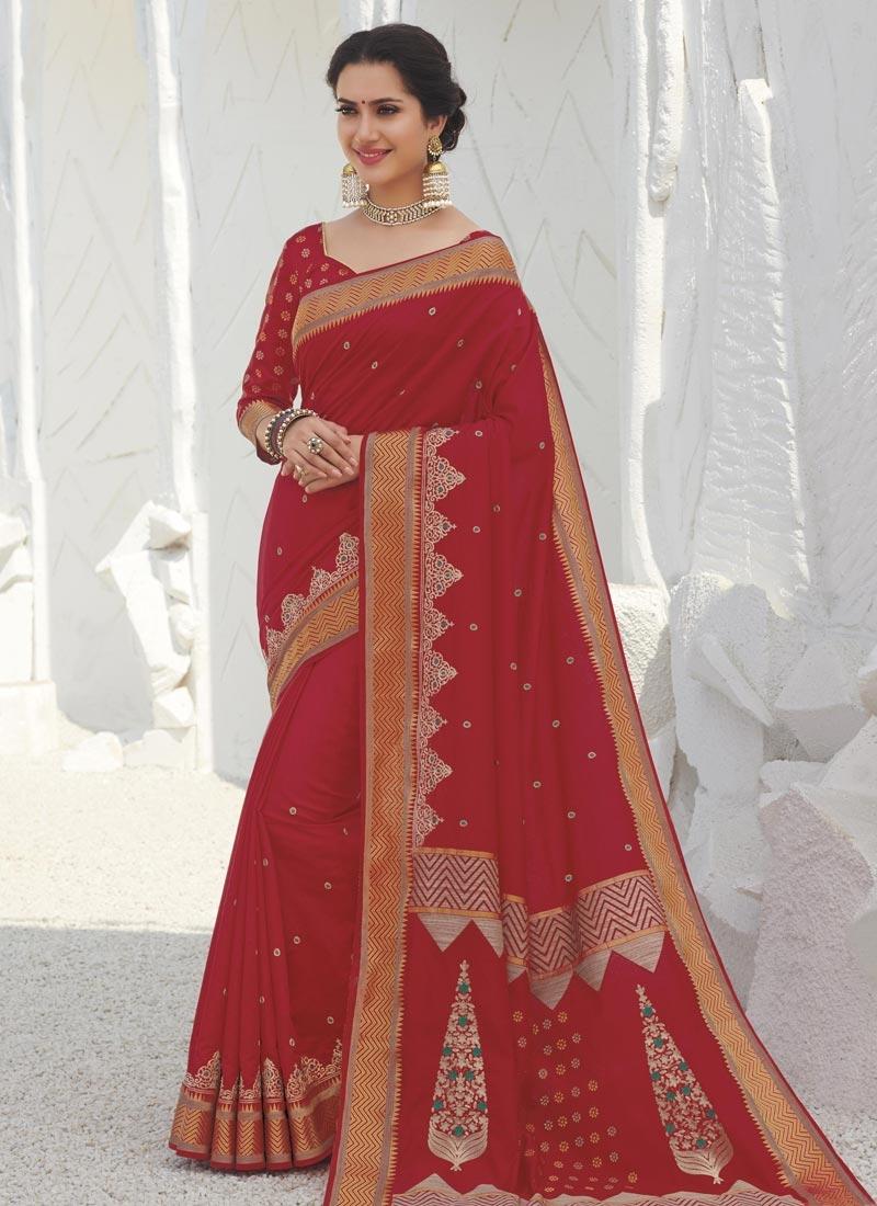 Swarovski Work Designer Traditional Saree