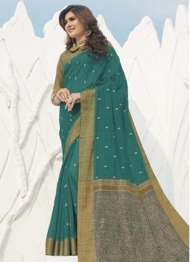 Swarovski Work Trendy Classic Saree