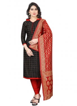 Tafeta Silk Trendy Churidar Salwar Kameez