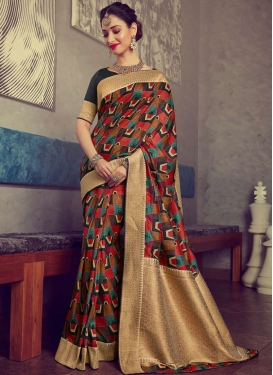 Tamannaah Bhatia Designer Traditional Saree