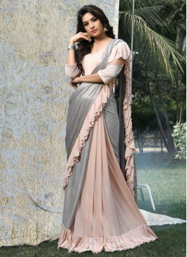 Thread Work Classic Designer Saree