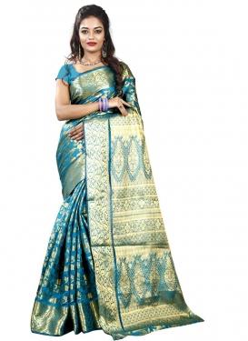 Thread Work Cotton Silk Classic Saree