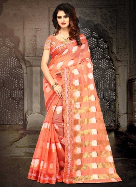 Thread Work Designer Contemporary Style Saree For Casual