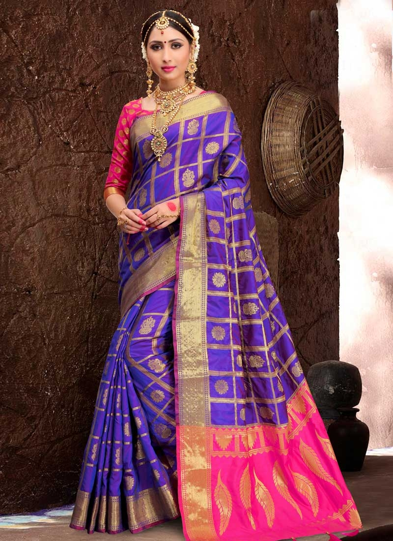 Thread Work Patola Silk Traditional Saree
