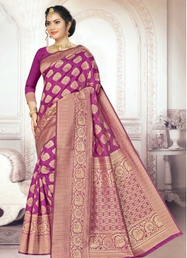Thread Work Trendy Classic Saree