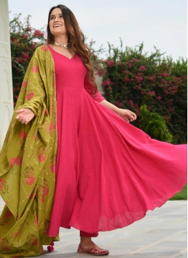 Thread Work Trendy Salwar Kameez