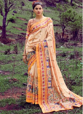 Topnotch Printed Saree For Casual