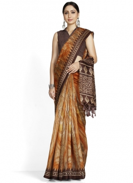 Traditional Designer Saree For Casual