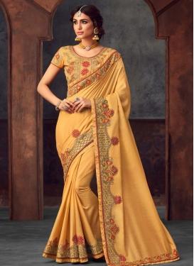 Traditional Designer Saree For Ceremonial