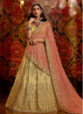 Trendy A Line Lehenga Choli For Bridal