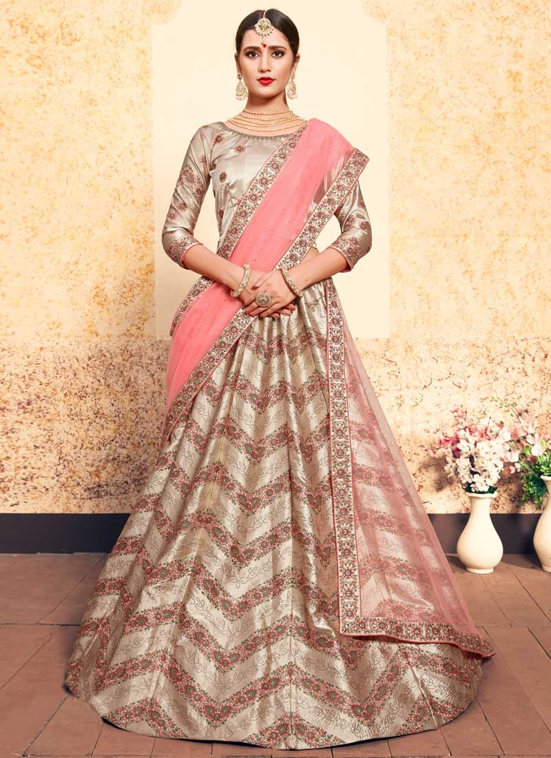 Trendy A Line Lehenga Choli For Ceremonial