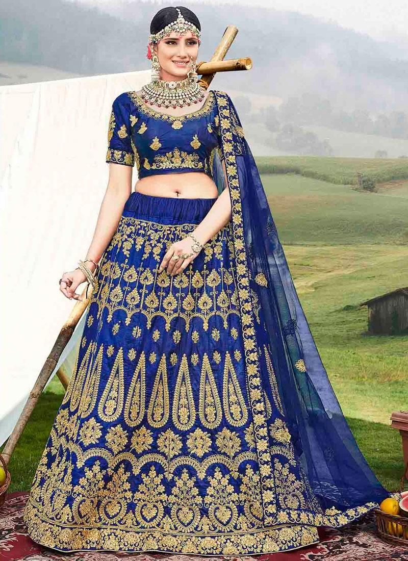 Trendy A Line Lehenga Choli For Ceremonial