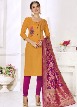 Trendy Churidar Salwar Kameez For Casual