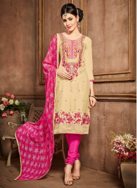 Trendy Churidar Salwar Kameez For Ceremonial