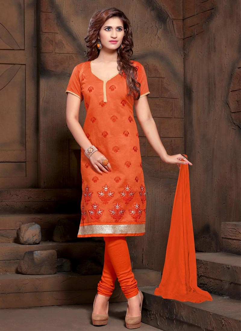 Trendy Churidar Salwar Suit