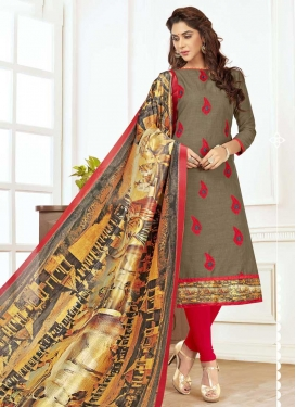 Trendy Churidar Suit For Casual