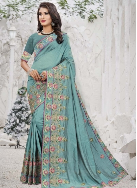 Trendy Classic Saree For Ceremonial