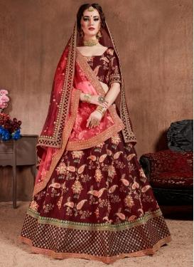Trendy Lehenga Choli For Bridal