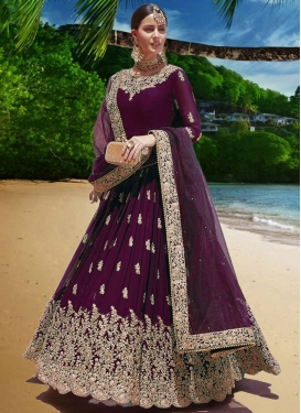 Trendy Long Length Anarkali Suit