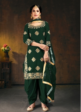 Trendy Patiala Salwar Kameez For Ceremonial