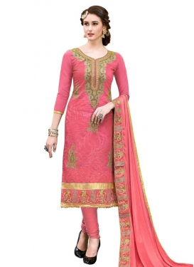 Trendy Straight Salwar Kameez For Ceremonial