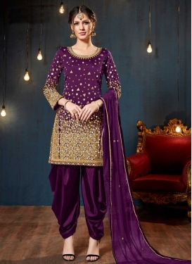 Trendy Straight Salwar Suit