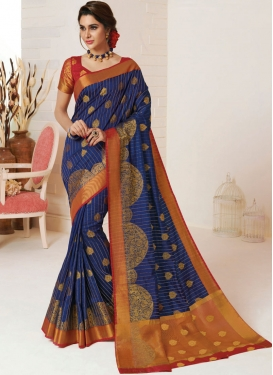 Trendy Weaving Designer Traditional Saree