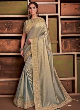 Tussar Silk Designer Contemporary Saree