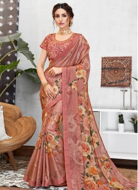 Tussar Silk Trendy Classic Saree