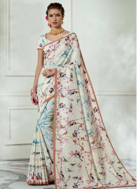 Tussar Silk Trendy Saree